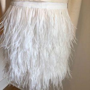 Club Monaco Skirt-Feathered white 00